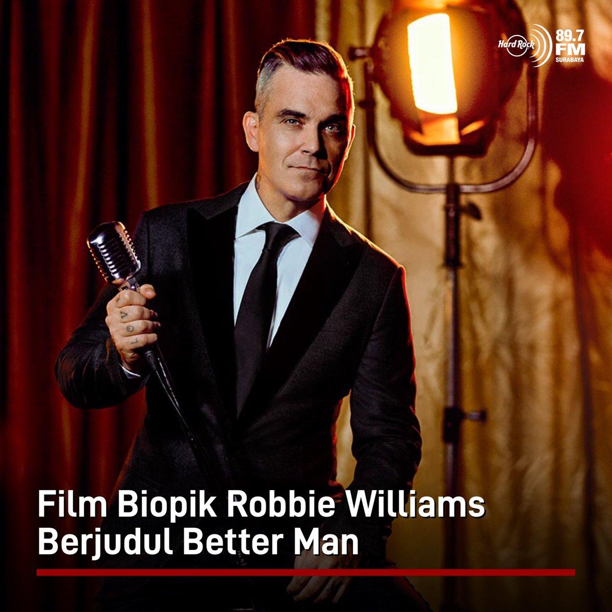 #HRFMNews Film biopik Robbie Williams diberi judul Better Man dan akan disutradarai oleh Michael Gracey, yang sebelumnya menyutradarai The Greatest Showman.  Film ini akan dikemas dengan menggabungkan unsur musik dan cerita fantasi yang diangkat dari perjalanan karier Robbie.