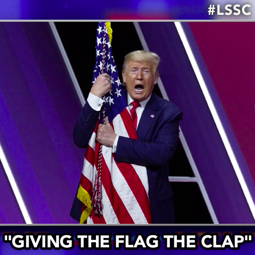"""This year's CPAC theme is """"America Uncanceled."""" It's better than last year's theme. https://t.co/sWTpIsYeOT"""