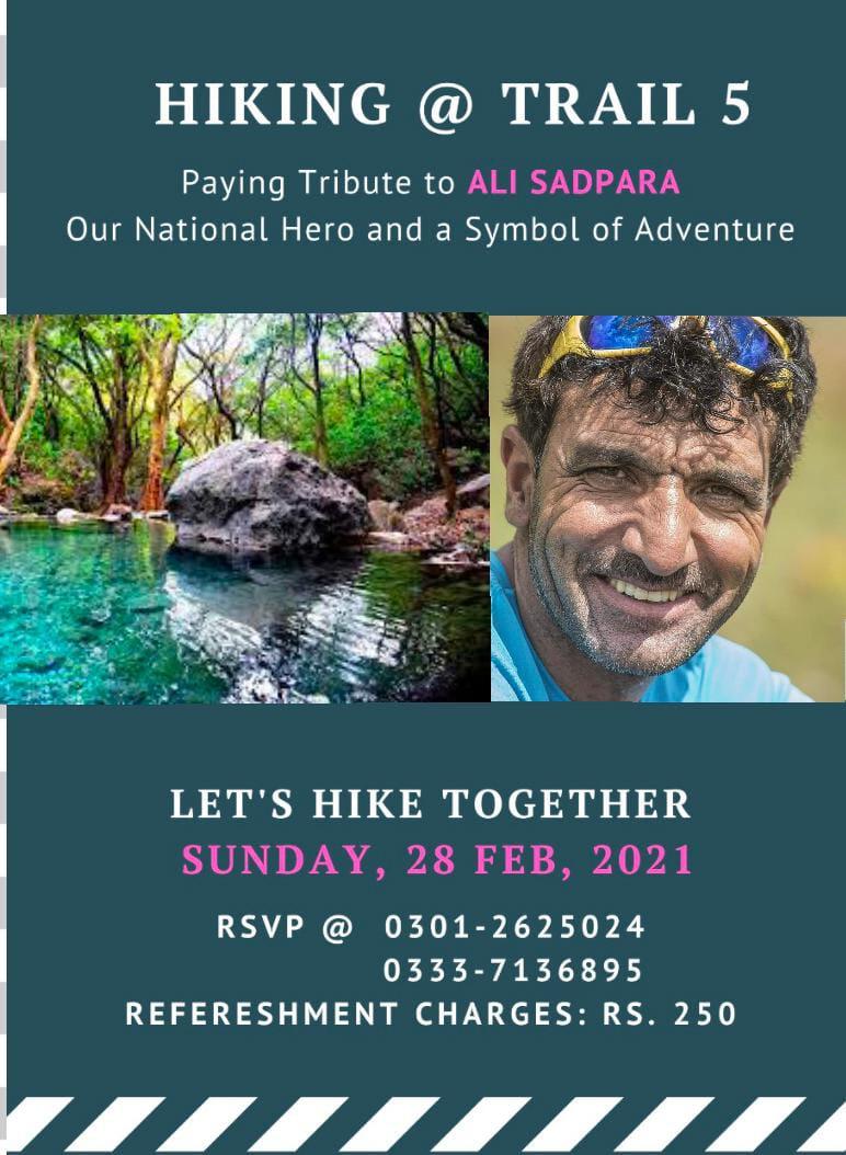 This #SundayMorning Long #hiking on #Margalla #Hills #Islamabad to pay to tribute to National Hero #Alisadapara #JPMohr #johnsonnori #k2 #K2WinterExpedition