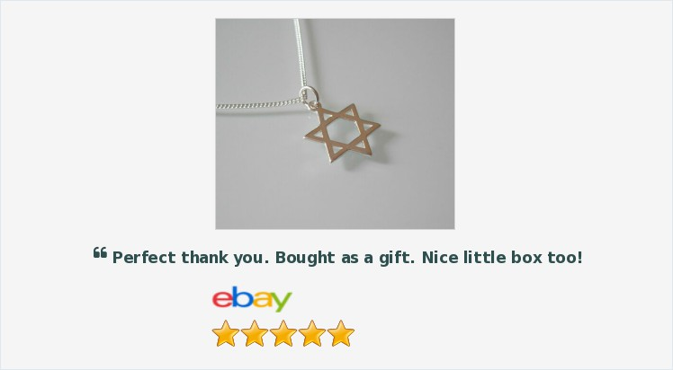 Brand New 925 Sterling Silver Star of David Pendant/Necklace - Gift Boxed | eBay #sterlingsilver #starofdavid #pendant #necklace #jewellery #gifts #giftideas #religious #jewelry #giftshop #finewjewelry #onlineshopping #uksmallbiz #jewelrylover ebay.co.uk/itm/1538996478…