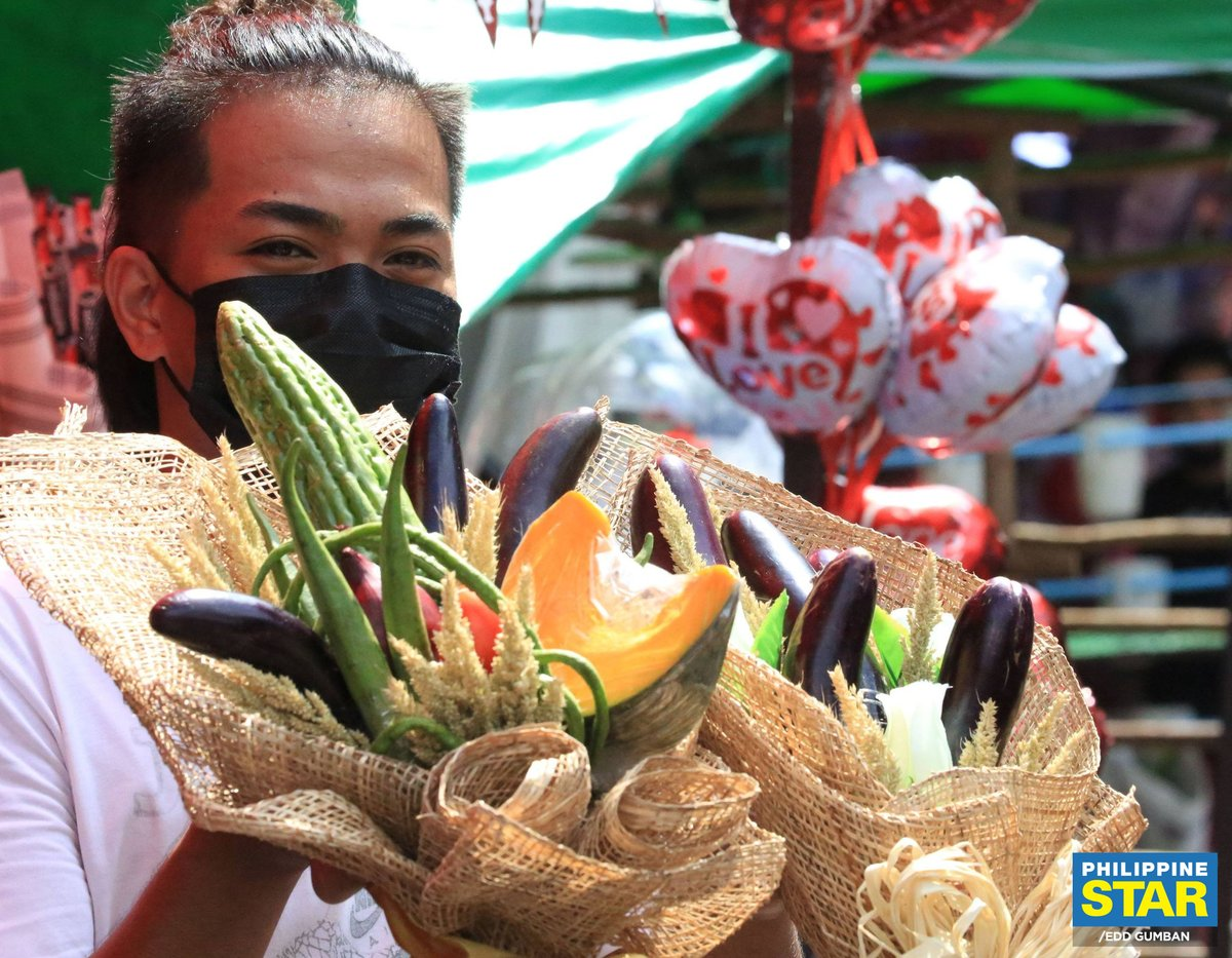 The Philippine Star On Twitter The Pinakbet Bouquet Costs P509 While Another Vegetable Inspired Arrangement Such As An Eggplant Bouquet Is Sold For P359 A Red Chili Pepper Bouquet Is Also Available For