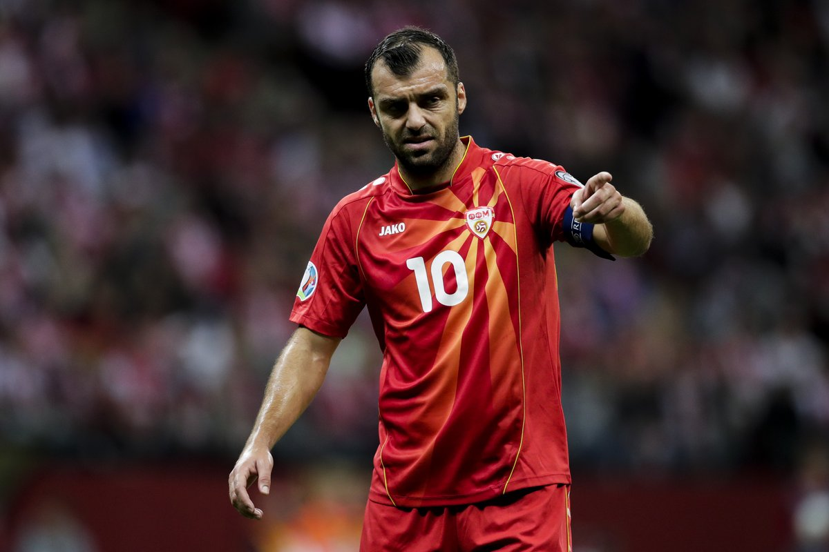 """UEFA EURO 2020 on Twitter: """"🇲🇰 Goran Pandev = North Macedonia's all-time top scorer with 36 goals 🤩 Who's your nation's record goalscorer? 🤔 ⚽️ @ffmmkd… https://t.co/dOOxw1bKoC"""""""