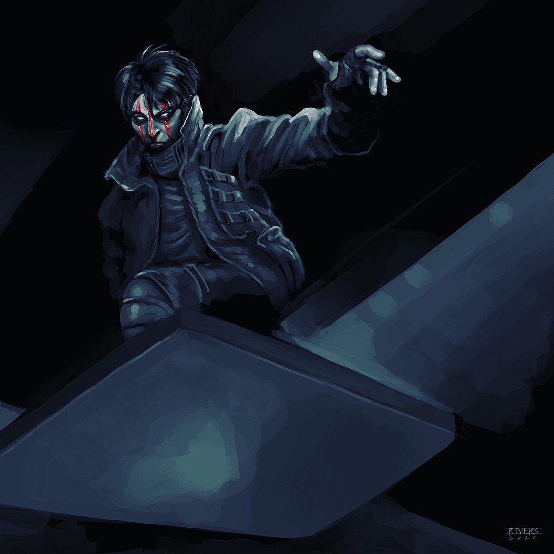 Loving this #Intruder artwork. Thank you Nick Rivers