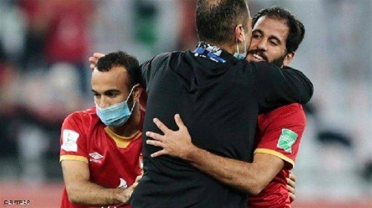 """في """"ليلة البرونزية"""".. بكاء مروان محسن يثير مشاعر المصريين"""