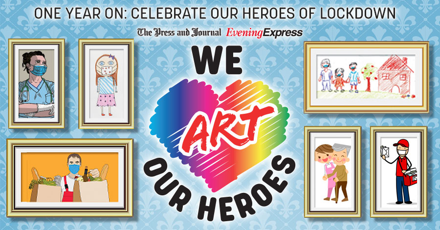 Coming Soon...We Art Our Heroes. Were gearing up to celebrate some of the special people who have made a difference during the pandemic. Watch this space for more details.