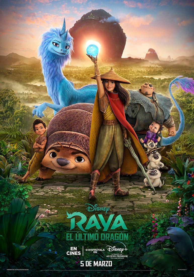 """Uživatel Disney+ España na Twitteru: """"¡Conoce a Raya y sus amigos en el nuevo póster de 'Raya y el Último Dragón'! #DisneyRaya… """""""