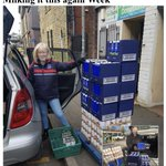 Image for the Tweet beginning: Another week another foodbank shopping