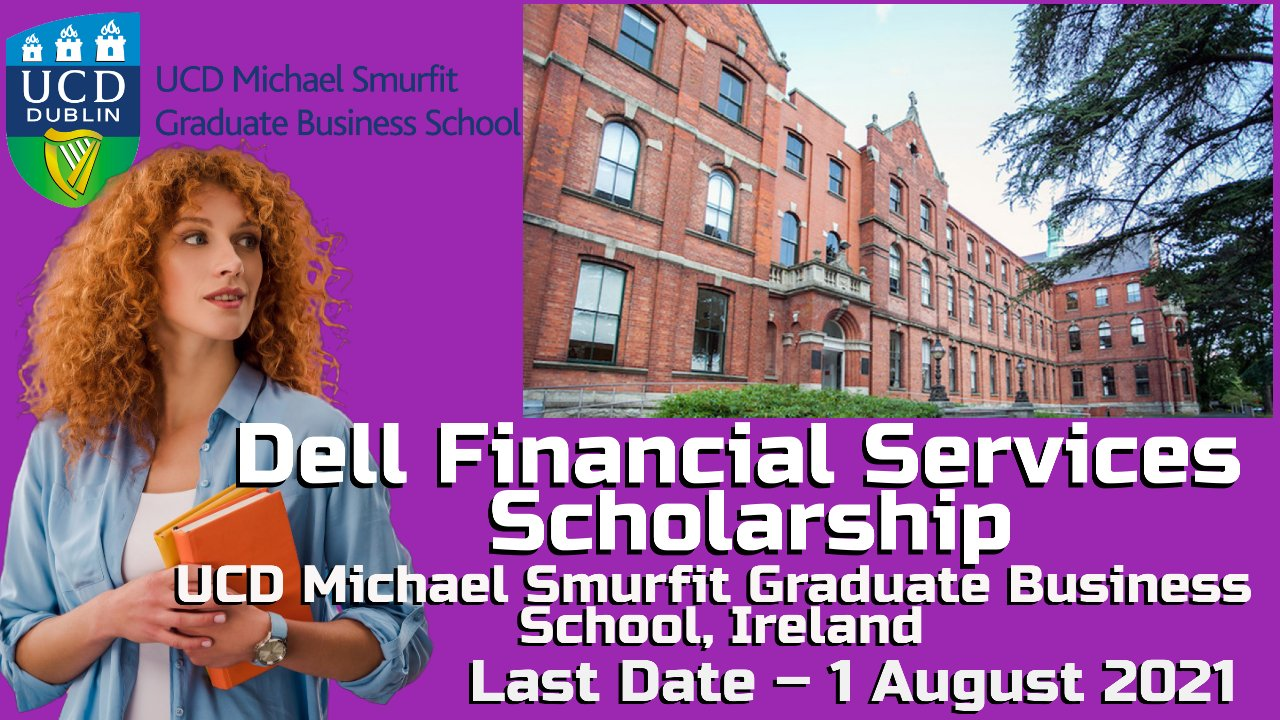 Dell Financial Services Scholarship at Michael Smurfit Graduate, Ireland