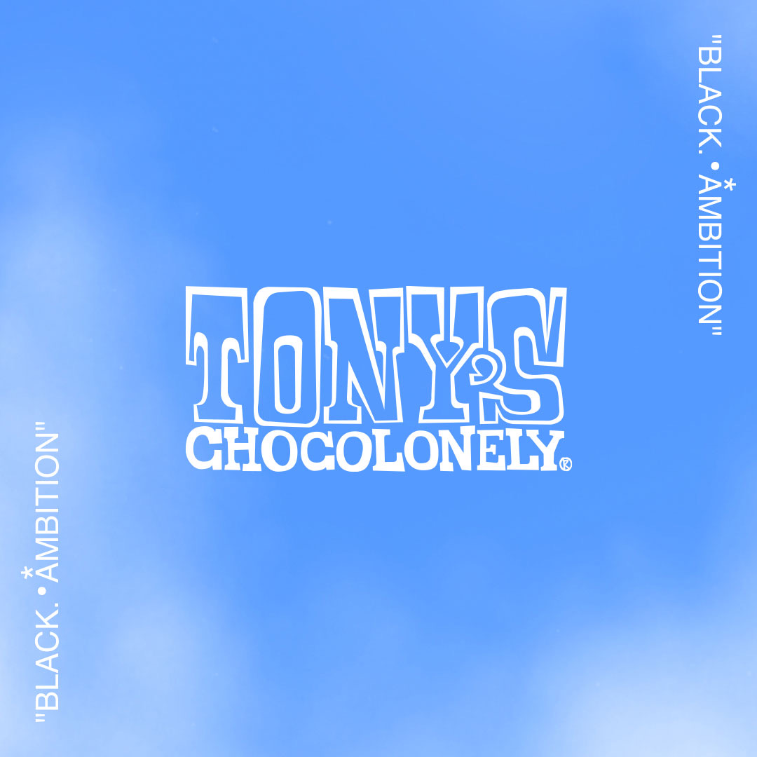 """Tony's Chocolonely fights for a fair world. That is why we plan to support our partner @Pharrell and his initiative #BlackAmbition not only now, but well into the future.""  Thank you @TonyChocolonely for supporting our work—we're excited for all the sweet things to come! 💫"