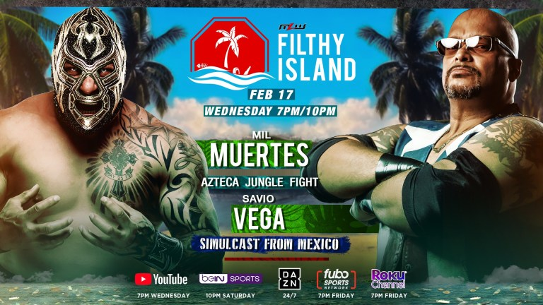 "Tom Lawlor Teases Beach And Aztec Jungle Fights For MLW's ""Filthy Island"" Special"