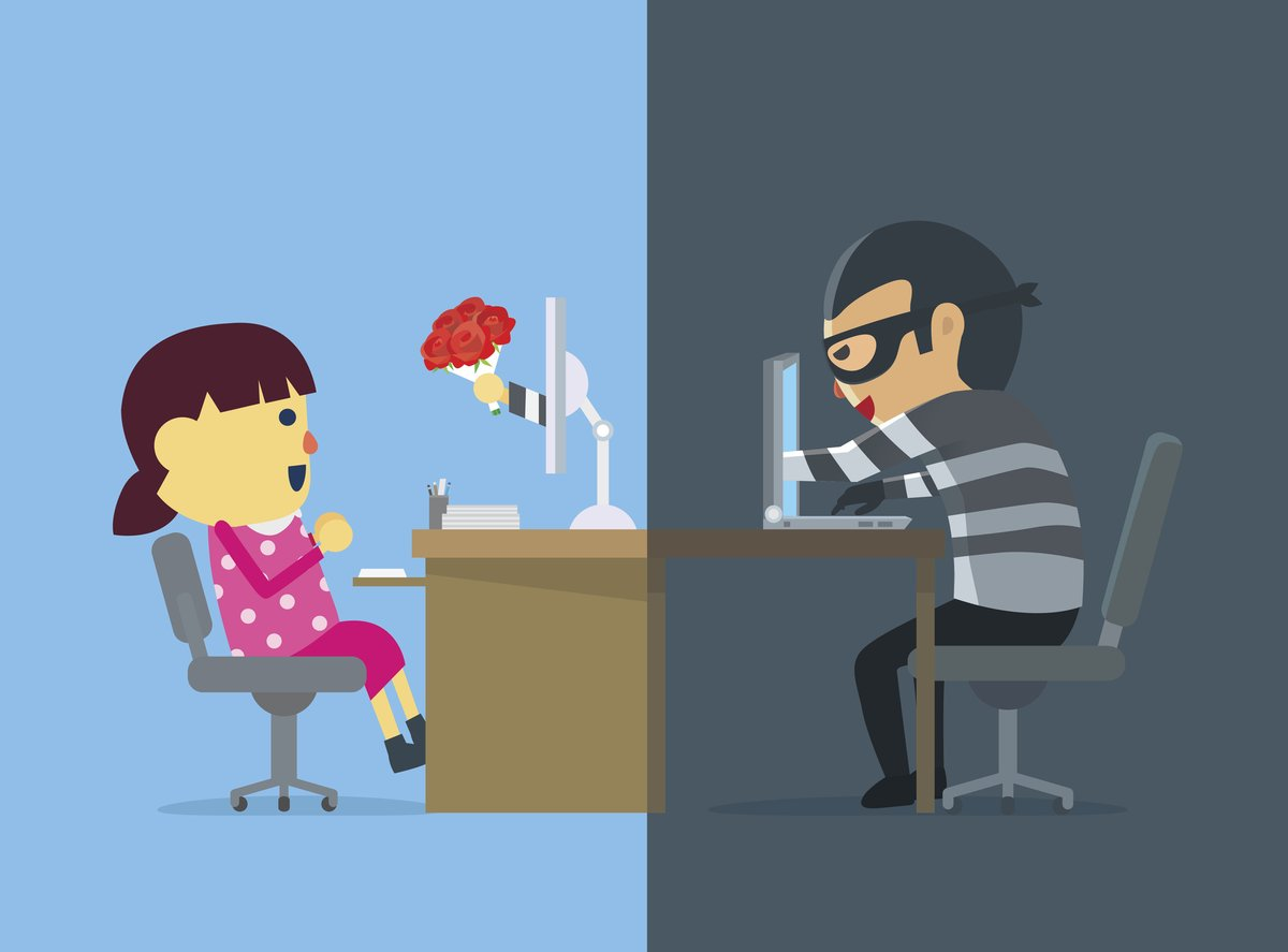 Distance may make the heart grow fonder, but it also makes romance scammers bolder. Never send money to someone you have only met online. Report fraud and attempted fraud to the FBI's Internet Crime Complaint Center at ic3.gov. fbi.gov/romancescams