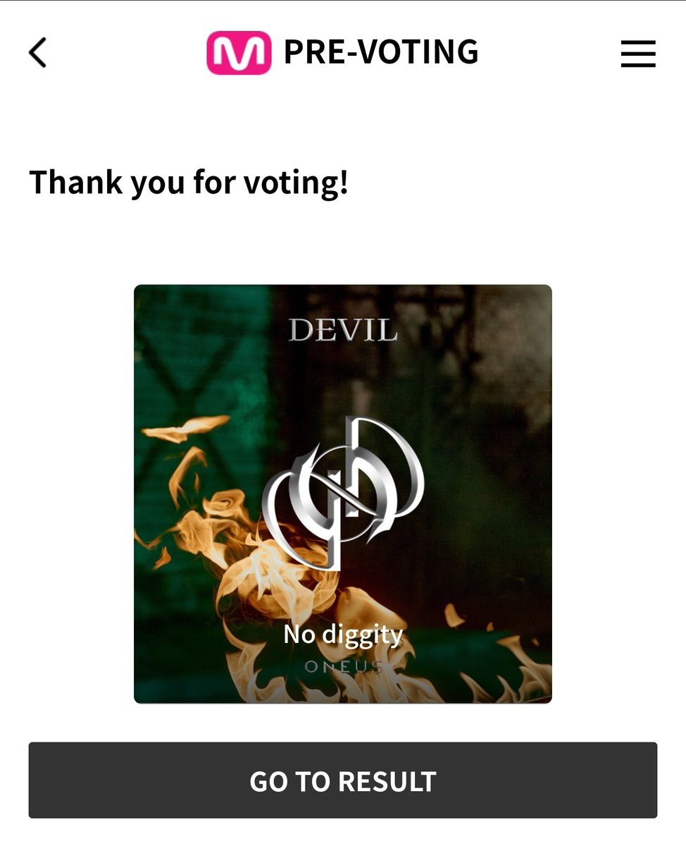 🚨Please vote on MWave app or website!🚨 No Diggity dropped to 6th place now....  📋:  @official_ONEUS #ONEUS #원어스 #DEVIL #데빌  #NO_DIGGITY #반박불가 #ONEUS_DEVIL_NoDiggity #원어스_데빌_그누구도_반박불가