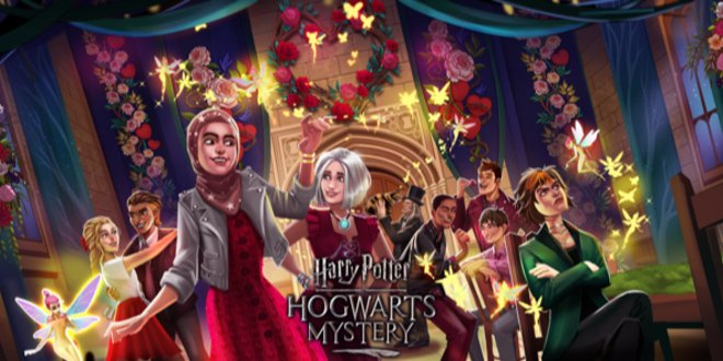 Experience the magic of #ValentinesDay with brand-new romantic updates from @HPPuzzlesSpells and @HogwartsMystery -