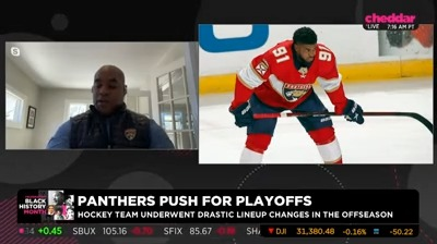 """.@FlaPanthers Assistant General Manager Brett Peterson discusses the importance of diversity in the NHL: """"You have to see people that look like you in order to continue to progress."""" https://t.co/8jZsvJVuct"""