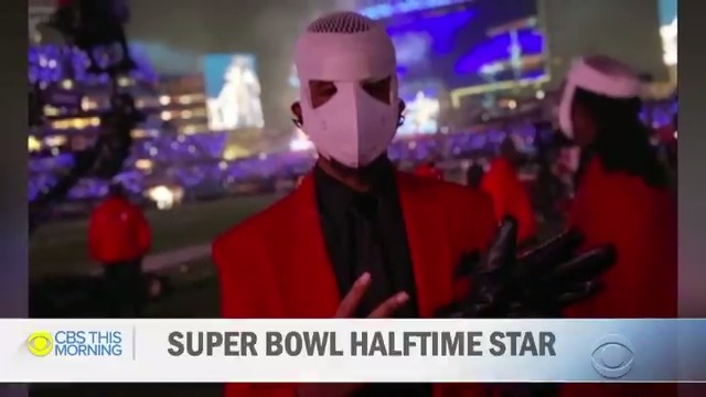 This 23-year-old Tampa man is making history for his dazzling moves during @TheWeeknd's Super Bowl halftime show.   He has high-functioning autism and is the first known person with an intellectual & developmental disability to take part in the show.  @vladduthiersCBS explains.