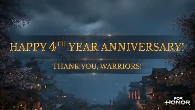 Happy 4th Anniversary, Warriors! Thank you all for your support and for being on this incredibilis journey with us! We spoke with some of our devs and community members, who shared their favorite For Honor memories with us.