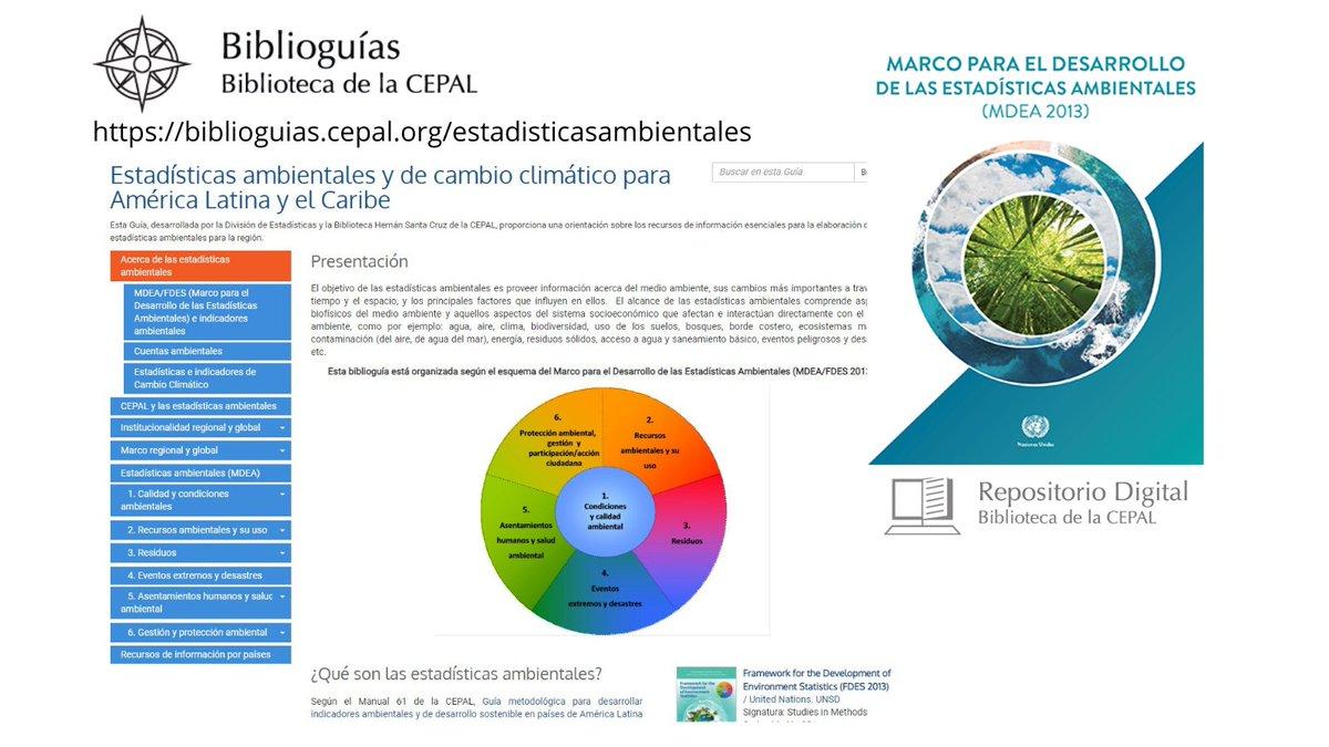 Biblioteca Cepal On Twitter Marco Para El Desarrollo De Las Estadísticas Ambientales Mdea 2013 Publicación De La Cepal Para Mejorar Del Monitoreo Y Medición De La Dimensión Ambiental Del Desarrollosostenible Y La