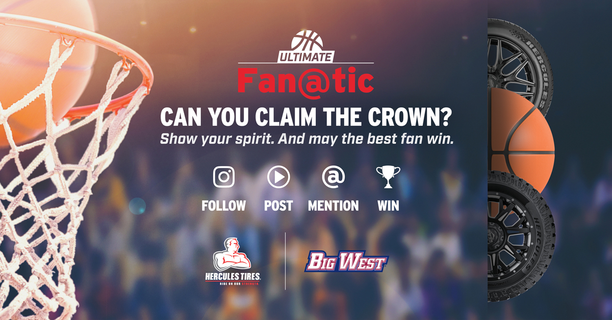 Can you claim the crown? Only one @BigWestSports king or queen can reign supreme in the #HerculesUltimateFanatic showdown. Think you've got what it takes? It's as easy as Follow. Post. Mention. Win.
