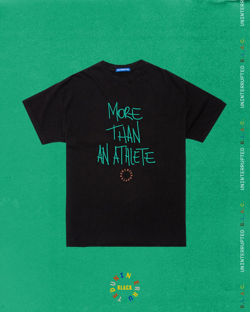 More than a month 🔴⚫️🟢 #MoreThanAnAthlete #BHM   Available now on .