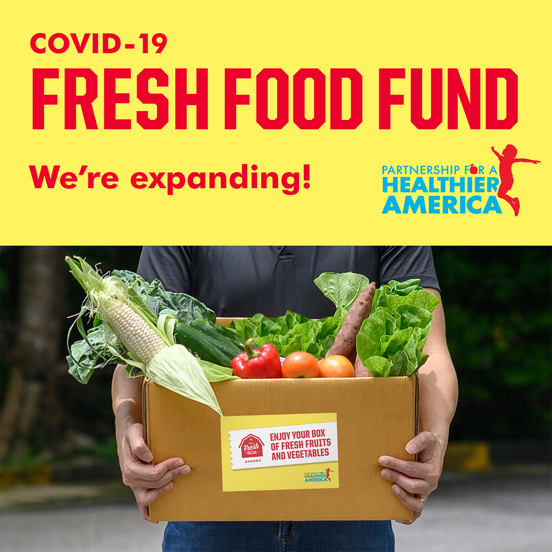 As the @PHAnews COVID-19 Fresh Food Fund expands, were excited to partner w/ @aurorak12 and @ChildrensColo to provide 14,000 boxes of free fresh produce to students and families in Aurora, CO now through May. 🍎 🥦 🥕 bit.ly/2N9fXGp