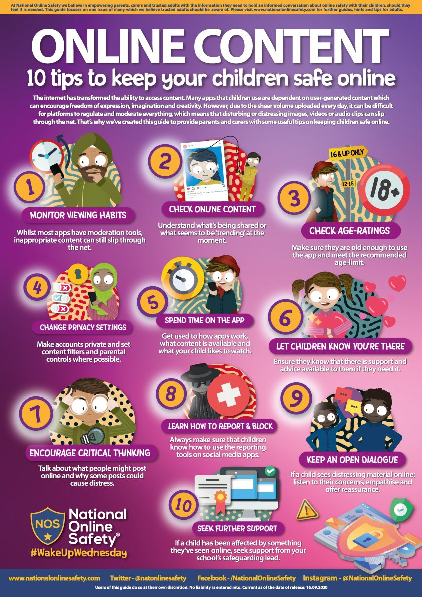 @natonlinesafety have produced a great #resource for parents to keep #children safe #online. @safeinternetday #SaferInternetDay #AnInternetWeTrust