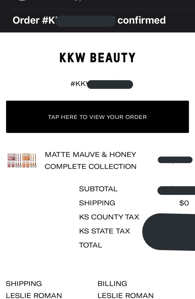 Since my birthday is on Tuesday, it's only right I spoil myself with an early birthday present !!!!! I cannot wait to receive BOTH collections!! @kkwbeauty @KimKardashian