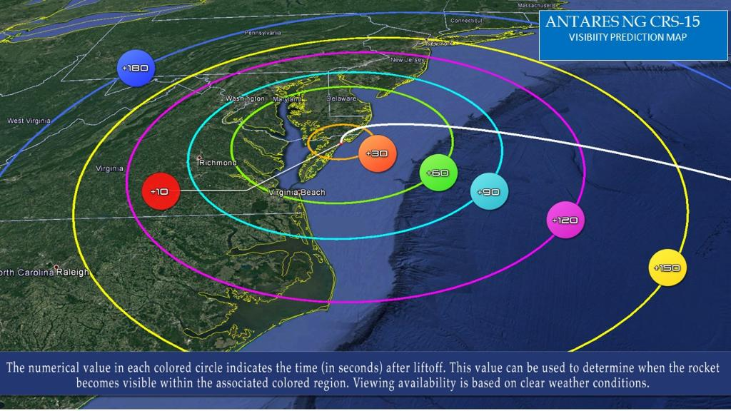 The @northropgrumman Antares cargo resupply launch to the @Space_Station is on track for Feb. 20 at 12:36 p.m. EST. The launch will be visible for those in the mid-Atlantic region, weather permitting. 📺 More on how to watch: go.nasa.gov/3agM6oJ