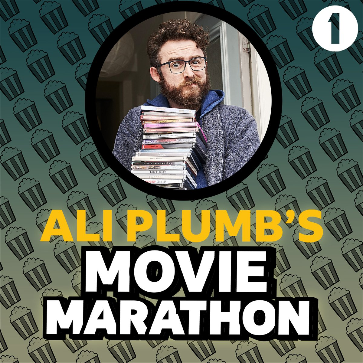 So it begins 🍿 Our resident film critic @AliPlumb is embarking on a Movie Marathon, watching a film for every letter of the alphabet, A-Z, as chosen by 𝙮𝙤𝙪! Listen to Radio 1 all week to hear how he's progressing, and how you can help choose what he ends up watching next 🎬