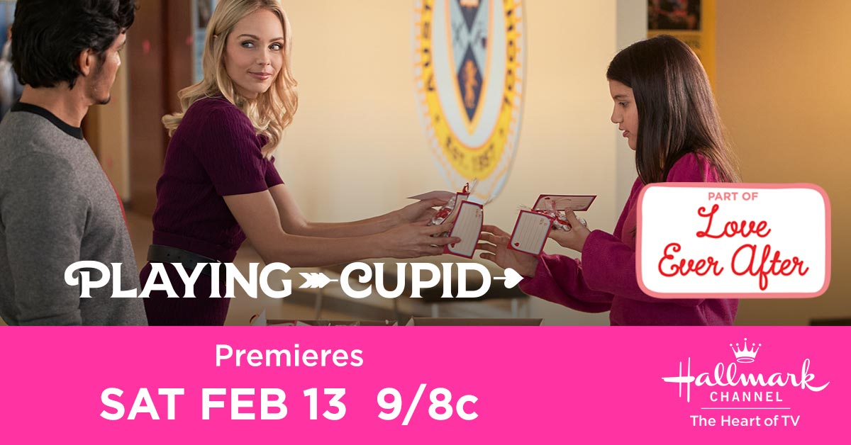 Clara's school project leads her to the perfect way to bring her dad David @IamNickGonzalez and her teacher @Vandiekins22 together just in time for Valentine's Day! ❤️ Watch and tweet along with us during the all new #PlayingCupid TOMORROW at 9/8c! RT if youll be tuning in!