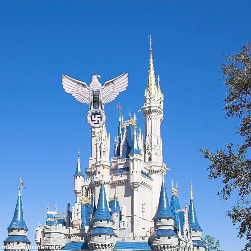 #Disney has been updating buildings to reflect their political stance