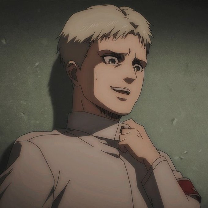 Reiner glow up...he have one of the best evolutions #attackontitan