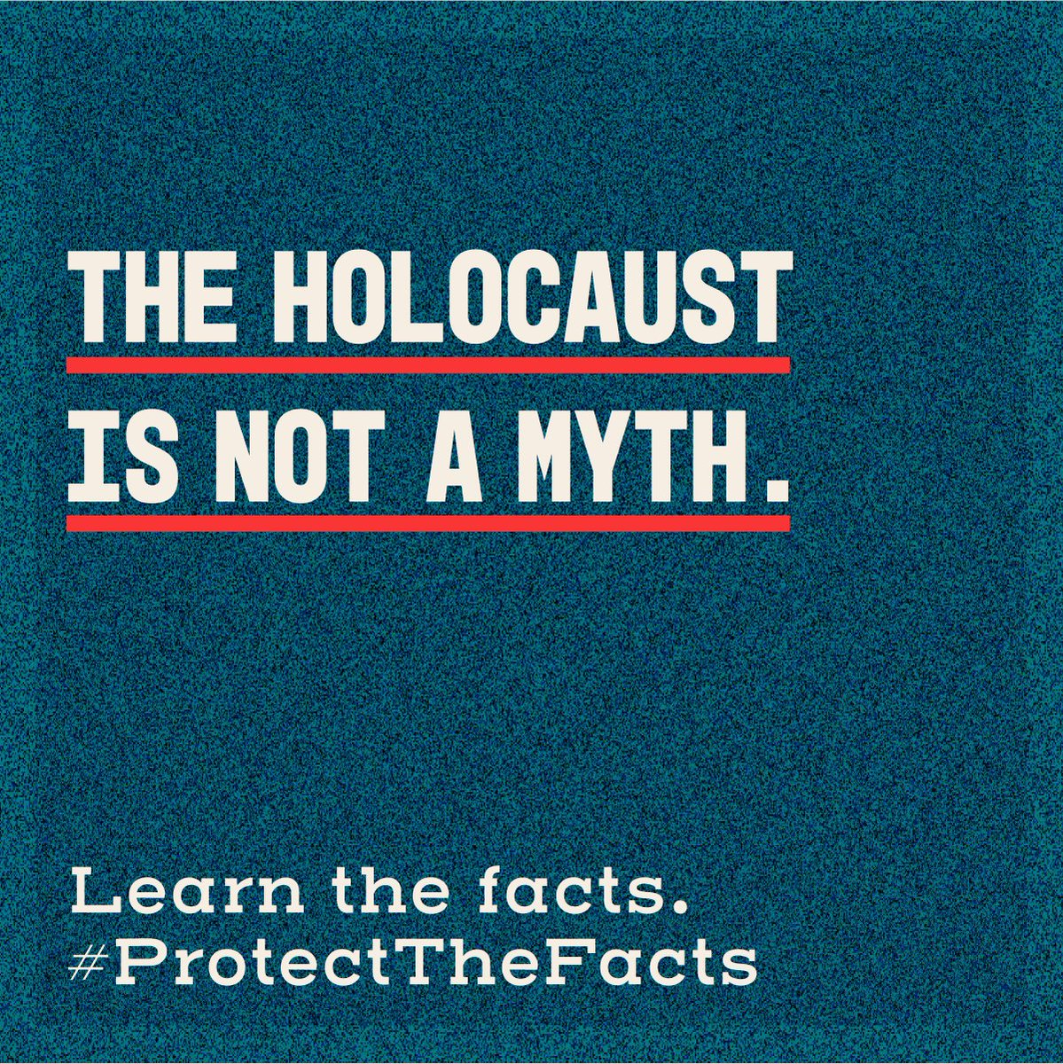 When Holocaust distortion is left unchallenged, it can lead to Holocaust denial, antisemitism, conspiracy myths & dangerous forms of nationalism.  We can all do our part to #ProtectTheFacts about the Holocaust.