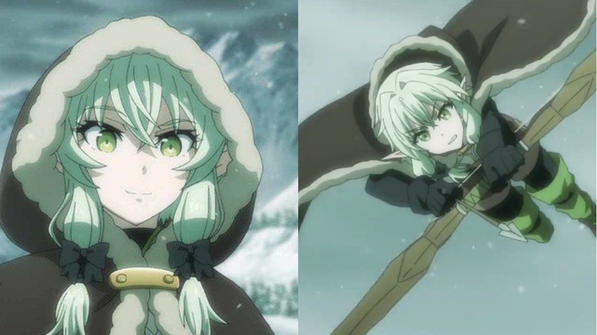 Really wishing I had that #HighElfArcher winter outfit right about now... 🥶❄️ #winterstorm #goblinslayer #winterwear