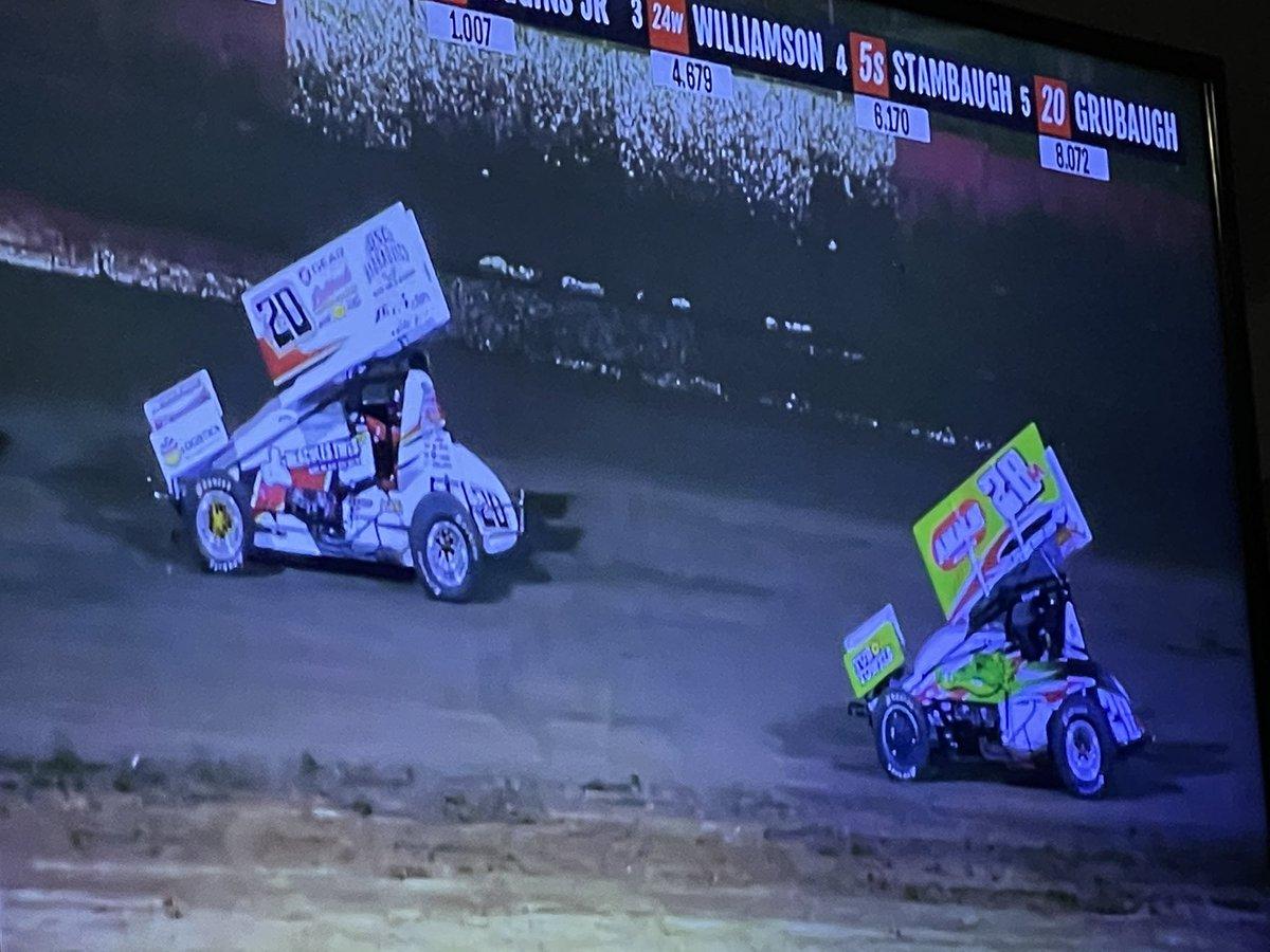 Cheering on that @GregWilsonw20 #w20 sprint car at @eastbayracepark on @FloRacing. #tweetyourFLOseat #Kingof360s