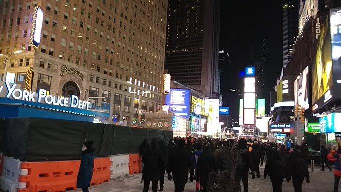 NYC BLM march descends into violence