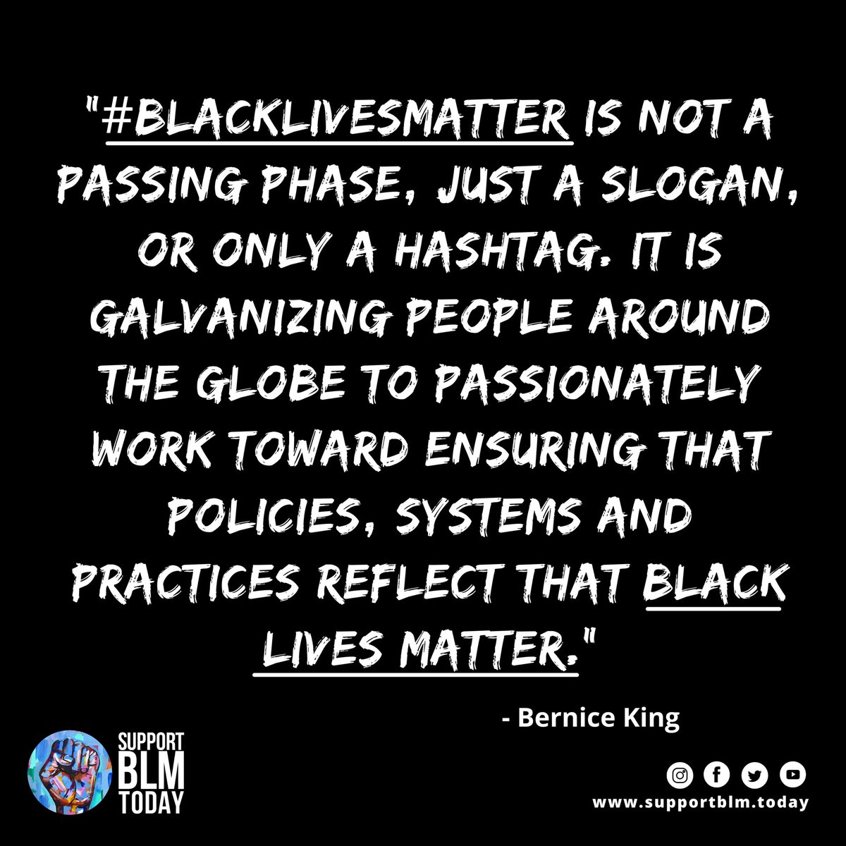 #BlackLivesMatter beyond the hashtag. Black Lives Matter today, tomorrow and every single day after that.    #blacklivesmatter #blmquotes #blm #blm2021 #equality #racism #solidarity #blacklives #mlk #blmmovement #nojusticenopeace #blacklivesmatterplaza