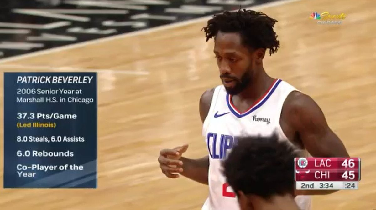 Patrick Beverley averaged how many PPG in high school? 👀
