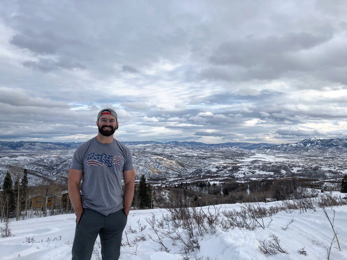 Thank you everyone for the birthday wishes! In Park City for the rest of the month. Hard to beat this view! #birthday #views #dopepic #getoutside #parkcity