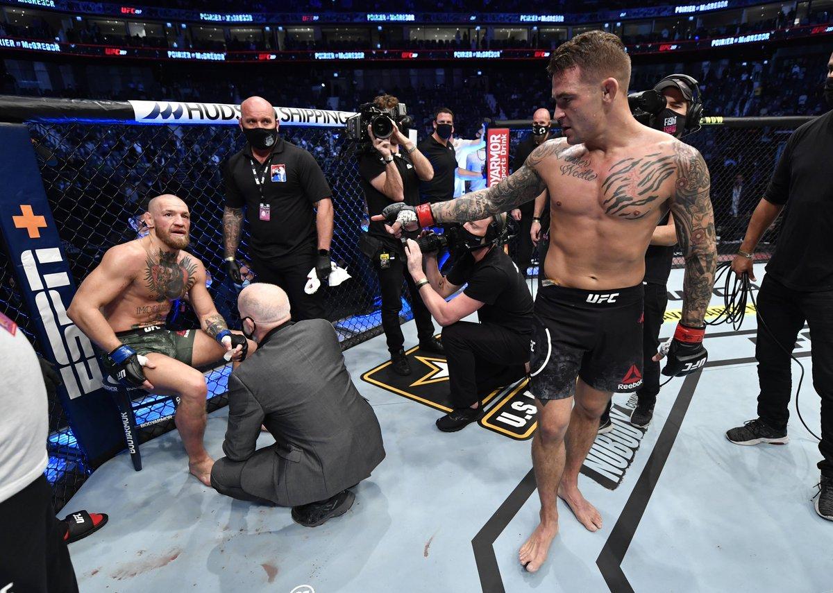 """[DEPORTES] """"Quieren la trilogía, tienes que ir con la trilogía"""" UFC con sus planes para Conor McGregor y Dustin Poirier #UFC #mcgregorpoirier ➡️"""
