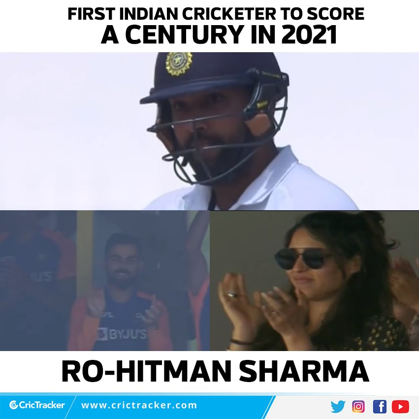 @BCCI @Paytm @ImRo45 Another great knock by my brother @ImRo45 , always making a mark on the field. All the best, hope to see you soon🙌 #INDvENG #GoHitman #Goals 🏏