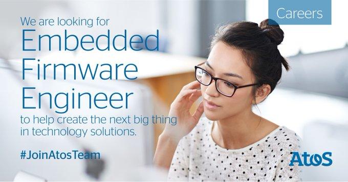 ATOS正在寻找孟加拉堡位置的嵌入式固件工程师。使用LinkedIn轻松使用...