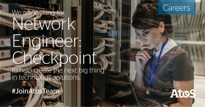 阿托斯正在寻找网络工程师检查站班加罗尔的位置。Easy apply with LinkedI…