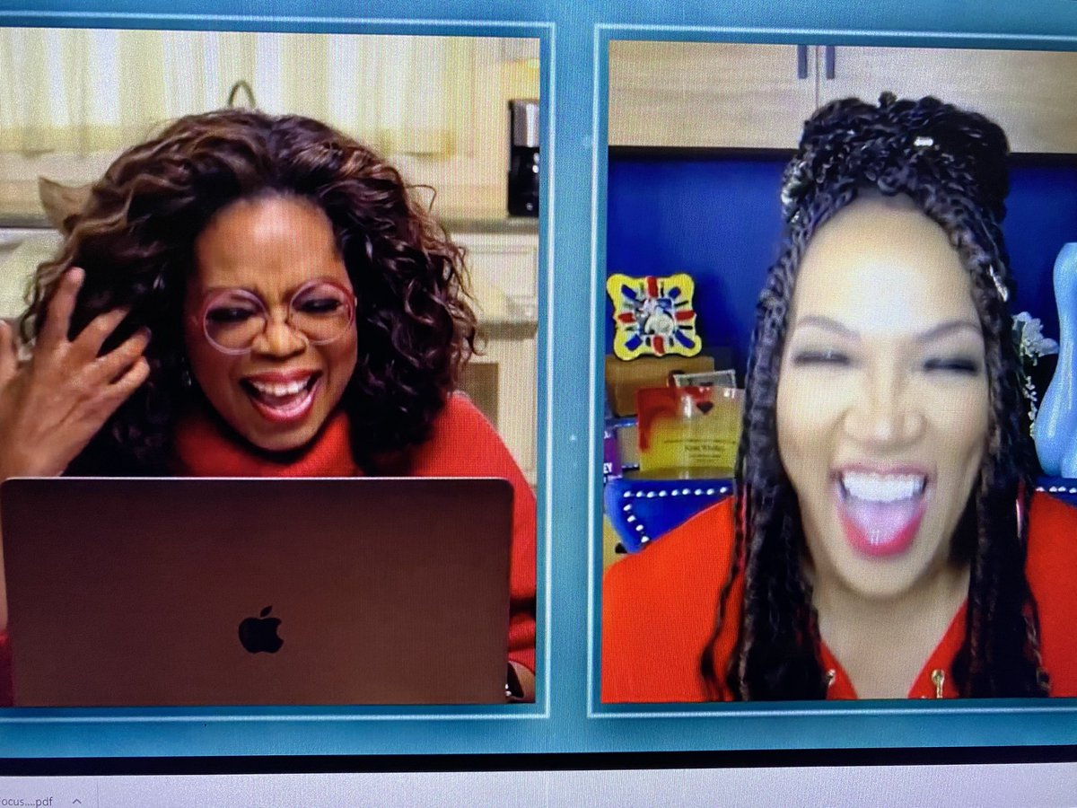 Fun times with @kymwhitley & @ Oprah #OprahandWW ❤️#betheloveyouneed #yourlifeinfocus