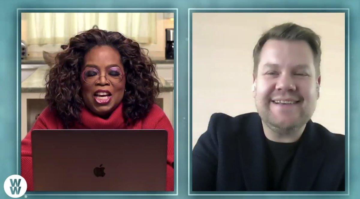Hey @JKCorden ! #OprahandWW  @Oprah