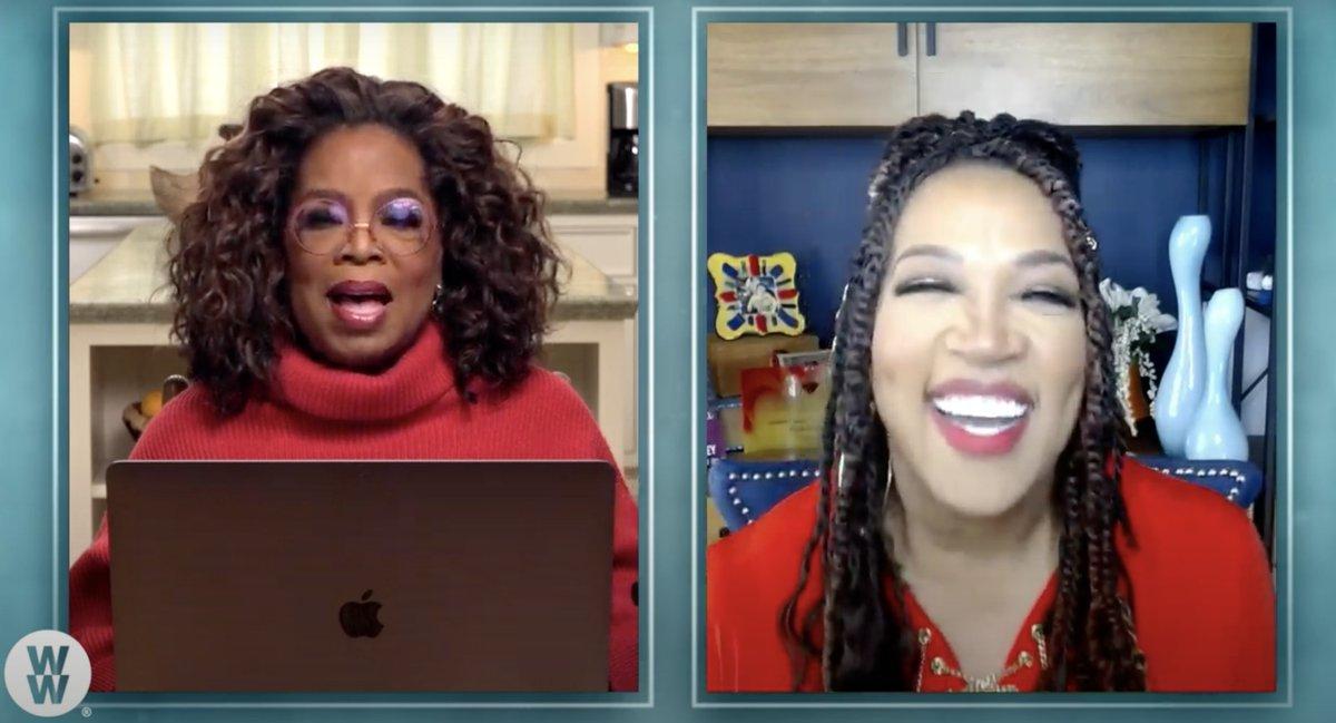 Love this @kymwhitley ! Congrats! @Oprah #OprahandWW