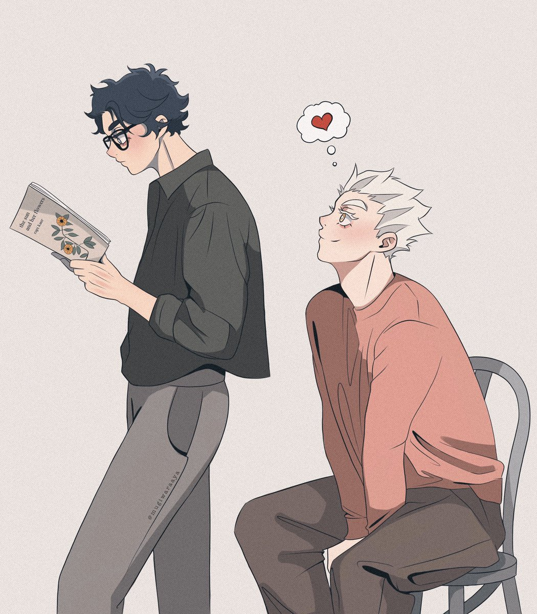 another sneak attack #bokuaka #haikyuu #ハイキュー