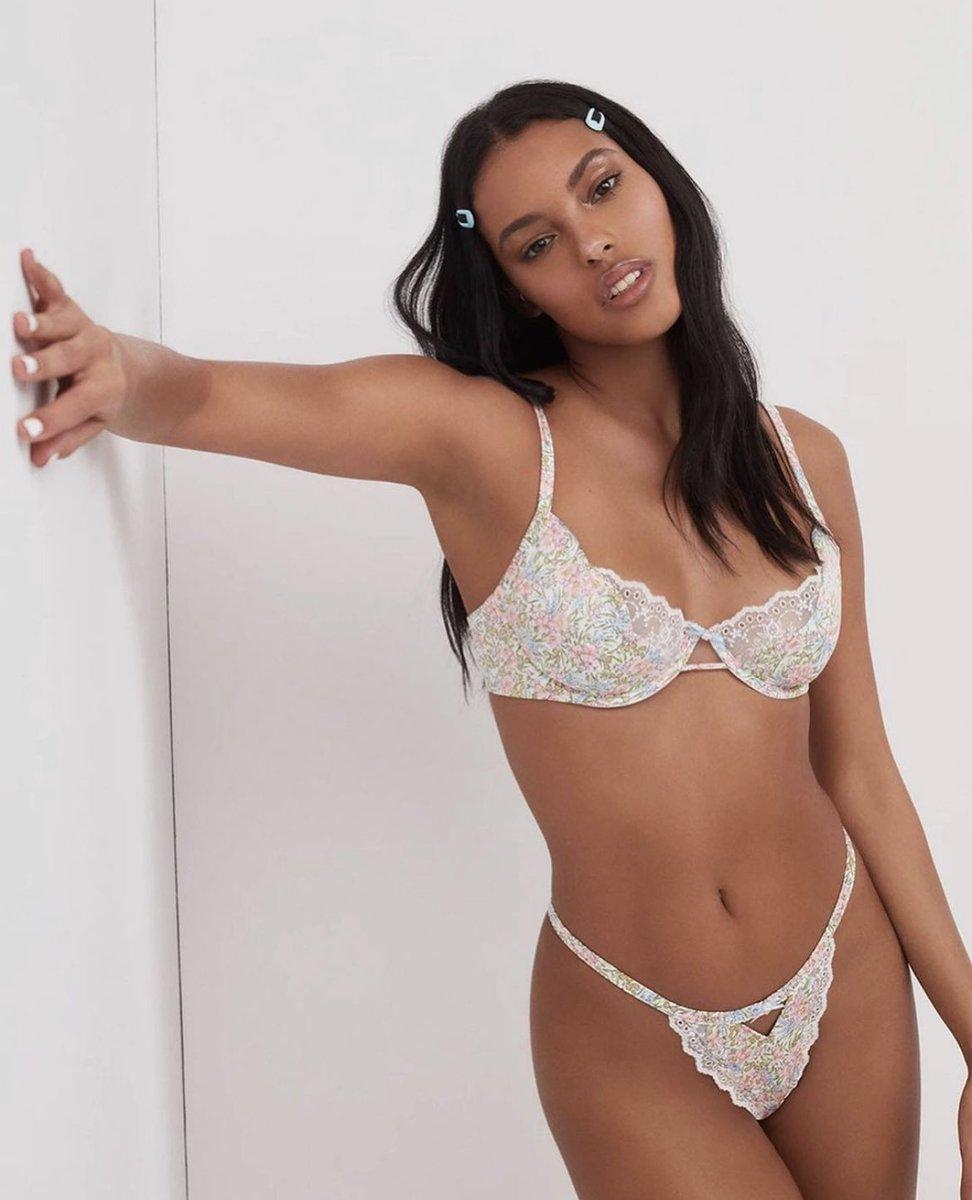 #NEW Victoria's Secret x For Love & Lemons collaboration  #FLLforVS @VictoriasSecret @LoveandLemons  Jasmine Daniels