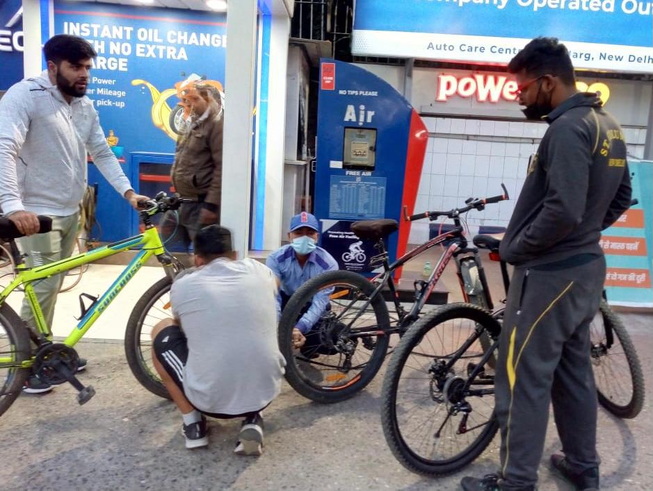 @Rajnishmehta78 @HPCL @ImRaina Thanks Sir. Our Air towers can fill air upto 120 psi for Bicycles. Regards.