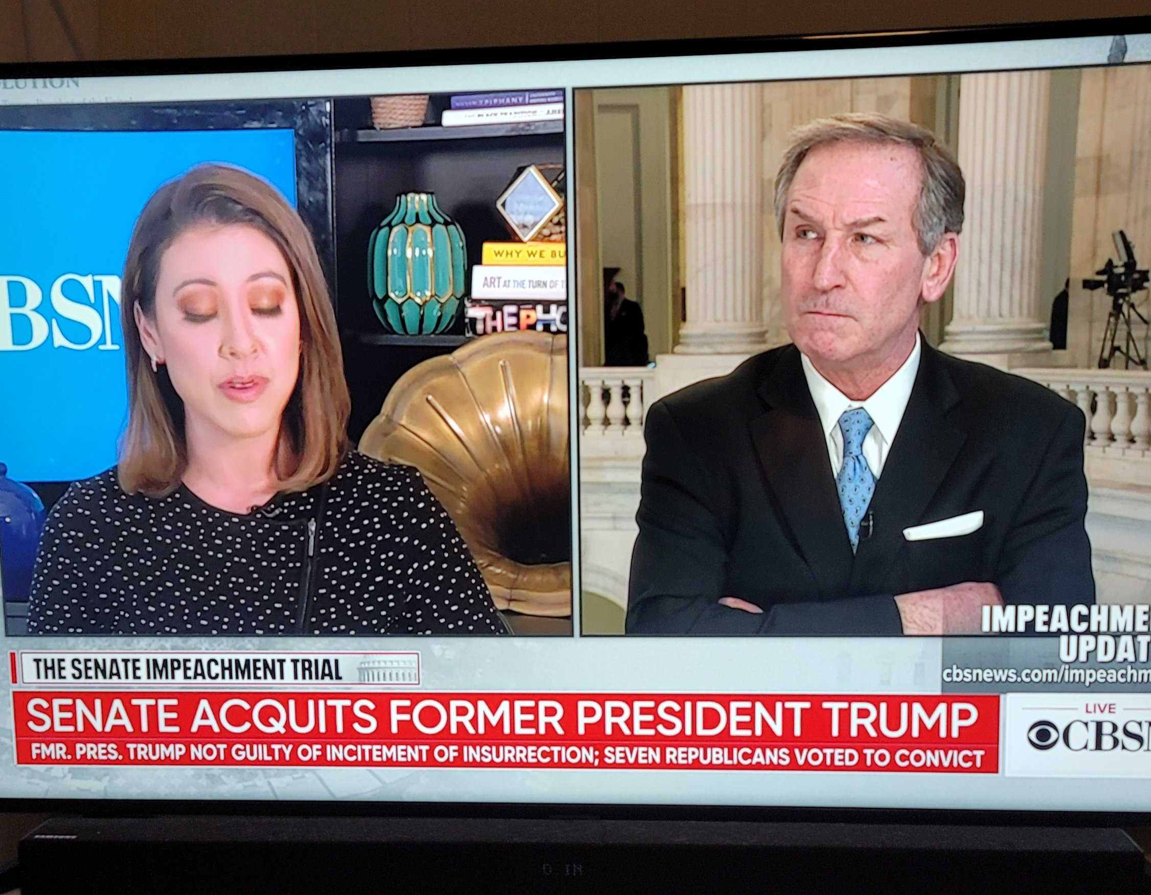 Watch: Trump attorney Michael van der Veen just destroys CBS hack Lana Zak after she defends House managers doctoring of evidence
