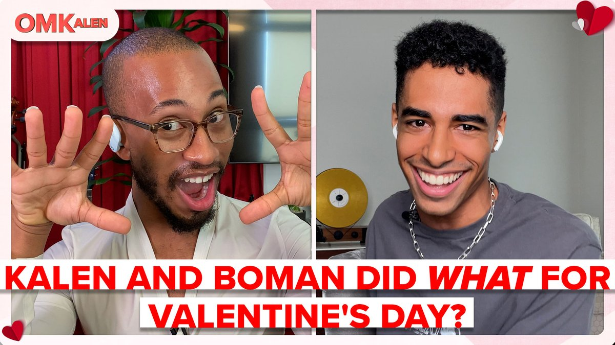 Alright folks, we are less than 24 hours away from Valentine's day and @bomanizer and I are in search for our prince in shining armour! So, we went on a virtual blind date with four men, at the same time! Lmaoooo #OMKalen #valentines